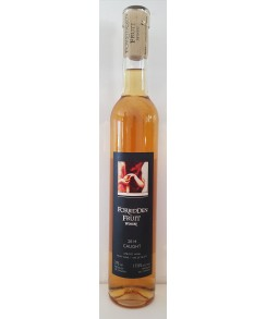 Forbidden Fruit Fortified Wine - 2017 Caught Apricot Mistelle (Organic) - Double Gold Medal!