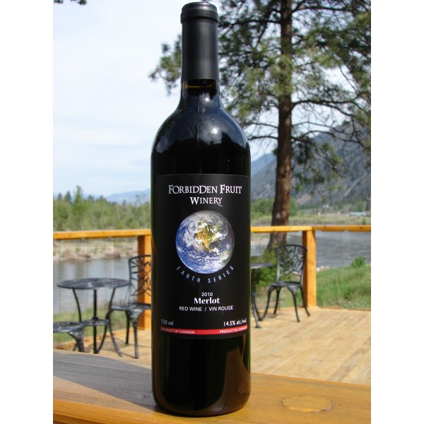 Earth Series Premium Grape Wine - 2013 Merlot (Organic) - Double Platinum! / Gold!