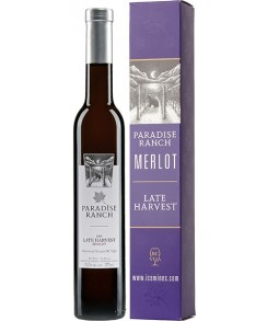 Paradise Ranch 2014 Merlot Late Harvest - VQA - Gold Medal!