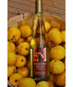 Forbidden Fruit Table Wine - 2017 Pearsuasion (Organic) - GOLD Medal Winner!
